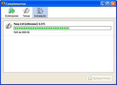 Firefox, instalar temas